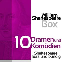 William Shakespeare: Zehn Dramen und Komödien