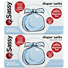 Sassy Disposable Scented Diaper Sacks - 200 ct - 2 pk