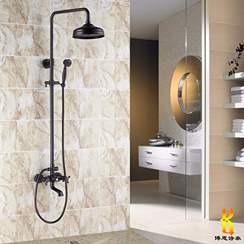 84 Black a Can Lift With redating Hlluya Professional Sink Mixer Tap Kitchen Faucet Rain shower faucet bath 10 black