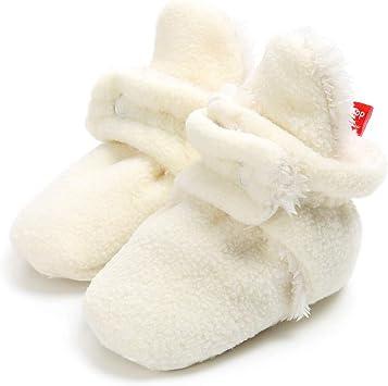 Bébé Chaussons Mignon Chaussures12~18 Garçon MoisBeige Prémarche 18 Filles Bottes Chaud Cooljun CotonDoux A 0 Mois Souple Enfant QtdxshrC