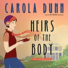 Heirs of the Body Audiobook by Carola Dunn Narrated by Lucy Rayner