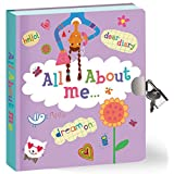 Peaceable Kingdom-All About Me-Lock and KeyDiary
