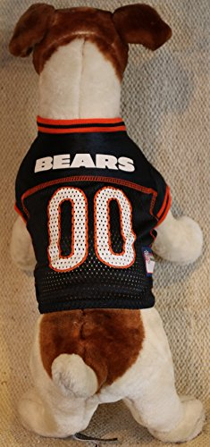 (Pets First Chicago Bears Dog Jersey Licensed NFL (Medium))