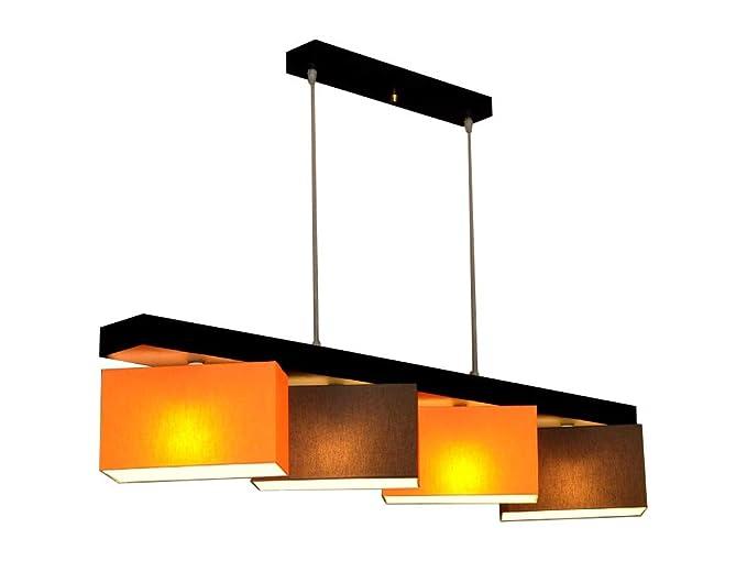 Lampadario lampada a sospensione milano m4h mix lampada 4 luci