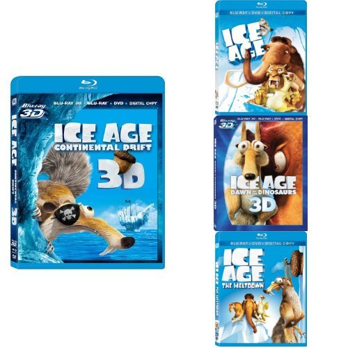 ice age continental drift 3d - 5