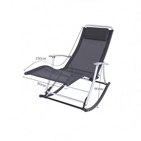 Amazon.com: Reclining Garden Chairs Sunlounger,Folding Chair ...