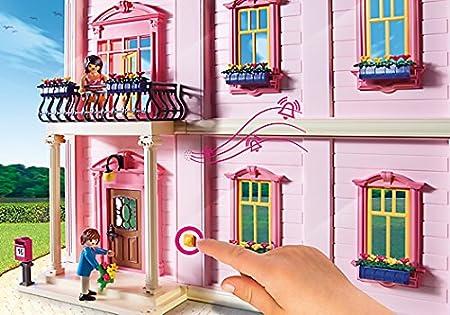 Amazon.com: PLAYMOBIL Deluxe Dollhouse: Toys & Games