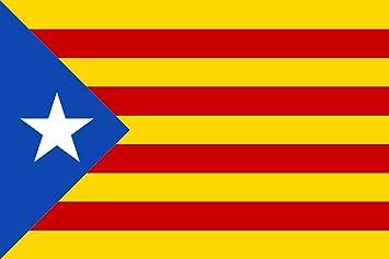 Catalan Estelada blava-catalunya -cataluña independentista 150 x 90