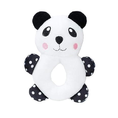 Emorias 1 Pcs Juguetes de Cuerda Perros Voz Panda Masticar Rascador para Gatos Morder Dientes Mascotas