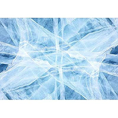 That You Will Love, Pretty Design, Texture of Ice of Baikal Lake in Siberia