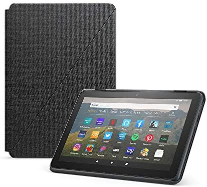 Amazon Fire HD 8 Cover, appropriate with tenth era pill, 2020 unlock, Charcoal Black