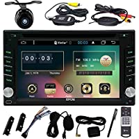 EinCar Navigation Seller-Privileged Sale New Brand Wifi Modem Android 6.0 in Dash Double Din 6.2 inch Capacitive Touch Screen Car DVD Player for Universal 2din Vehicles Screen Mirror& Wireless Camera