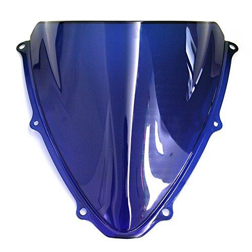 OyOCycle Windshield for Suzuki GSXR 600 750 K6 2006 2007 GSXR600 GSXR750 Double Bubble Windscreen Wind Deflector Wind Splitter