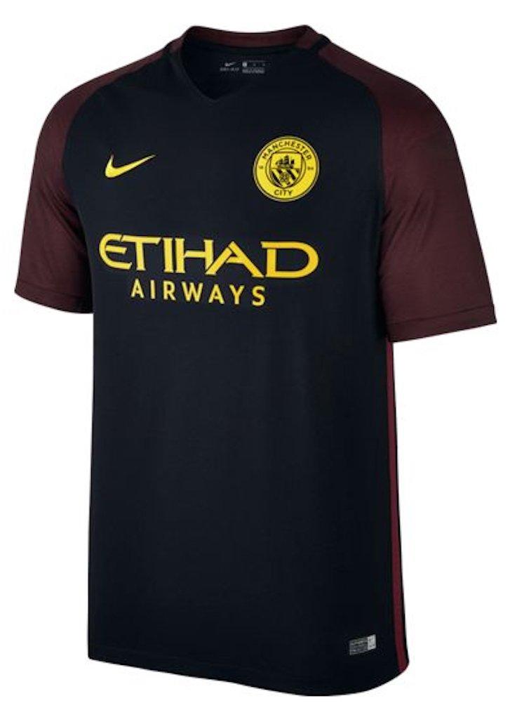 Nike 2016-2017 2016-2017 2016-2017 Man City Away Football Soccer T-Shirt Trikot (Kids) 6cbc0b