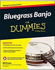 Evans, B: Bluegrass Banjo For Dummies