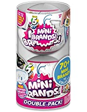 5 Surprise Mini Brands Mystery Capsule Real Miniature Brands Collectible Toy (2 Pack) by ZURU
