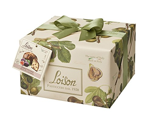 Christmas Desserts - Panettone Loison With Figs 1.1 Lb