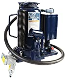 TCE Professional Grade Air Hydraulic Bottle Jack, 20 Ton Capacity