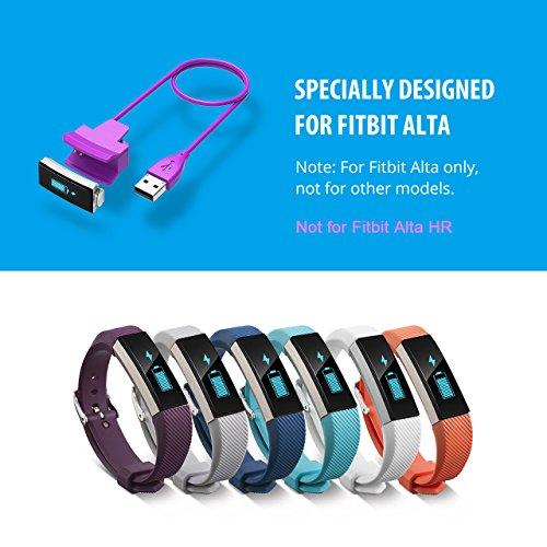 Cablor 2PCS Charger for Fitbit Alta, 30cm Fitbit Alta