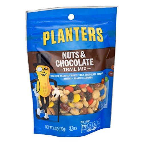 Planters Kraft Nut & Chocolate Trail Mix 6 Oz (1 pack of 12 - Kraft Planters