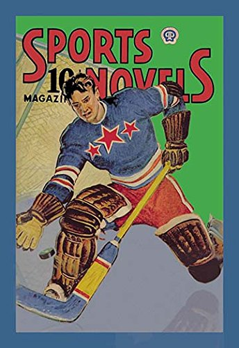 Three Star Goalie Lunges for Puck Fine Art Canvas Print (20