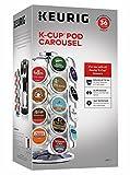 keurig pod carousel - Keurig 5000196801 K-CupPod Carousel Coffee Machine Accessory, 36 Count, Chrome
