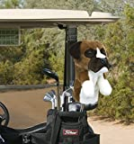 Daphne's Boxer Headcovers, Brown-White