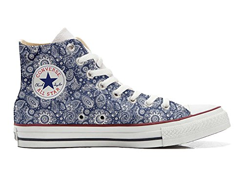 Customized Artesano producto Star Arabesque Personalizados All Zapatos Converse ABqEfE