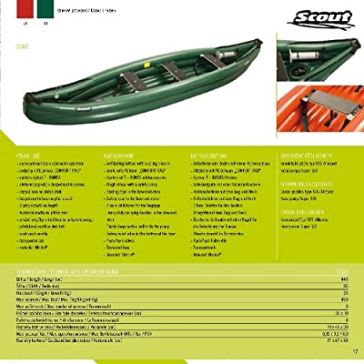 Scout - Color Verde - Barca hinchable - Standard - Whitewater para ...
