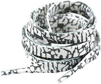 靴ロープファッションホワイトストライプレインボーアスレチックシューズ