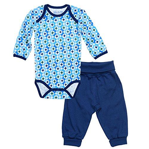7aec930044 Amazon.com  Babybody w  Pant - Prism Print Navy - 9-12M  Clothing