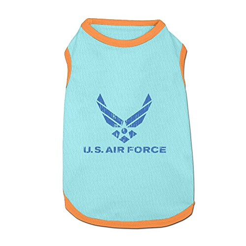 Funny Us Air Force Symbol Small Dog Tshirt Pet Cat Puppy Dogs