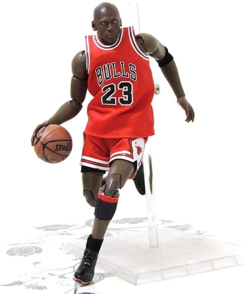 lkw-love Figuras de Anime Figura de acción Juguete Serie NBA Jordan Kobe James Curry Modelo Souvenirs/Coleccionables/Manualidades 22 cm Estatua de Juguete (Color: Jordan)-Jordán: Amazon.es: Hogar