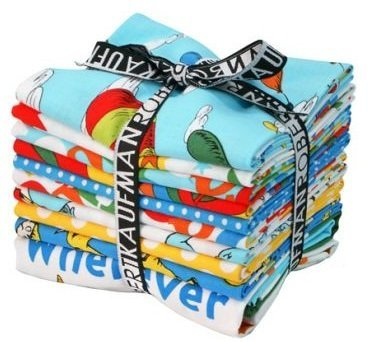 Oh The Places Youll Go By Drseuss New Fat Quarter Fabric Bundle