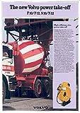 1985 Volvo F10 F12 N10 N12 Mixer Truck Brochure