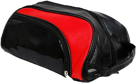 dailymall Estuche de Calzado Deportiva Bolsa de Almacenamiento de Zapatillas de Golf Running Ciclismo - Rojo: Amazon.es: Deportes y aire libre