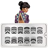 MoYou London Nail Art Image Stamping Plate Mandala Collection 08 Shipping within 24h US Stock