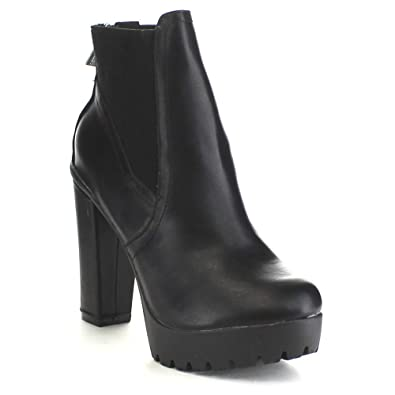 Breckelle's Women's Hanna-11 Platform Boot ...