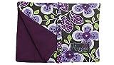Nirvana Needle Arts 7'' Hook and Needle Case Purple Floral