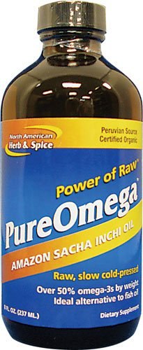 North American Herb and Spice, Pureomega, 8-Ounce