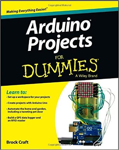 Arduino Projects For Dummies Paperback
