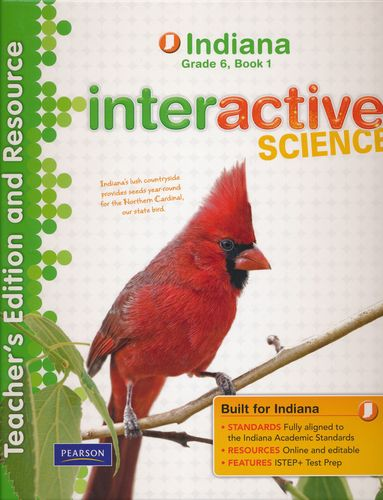 Interactive Science Teacher's Edition and Resource: Indiana Grade 6