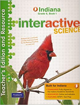 Interactive Science Teacher's Edition and Resource: Indiana Grade ...