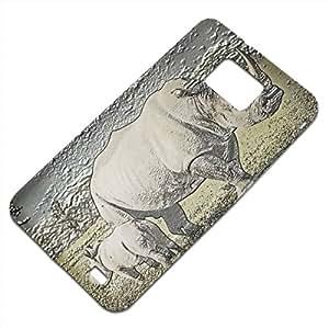 Animales Salvajes 10060, Embossed Caso Carcasa Funda Duro Gel TPU Protección Case Cover, Diseño con Textura en Relieve para Samsung S2 i9100 i9200.