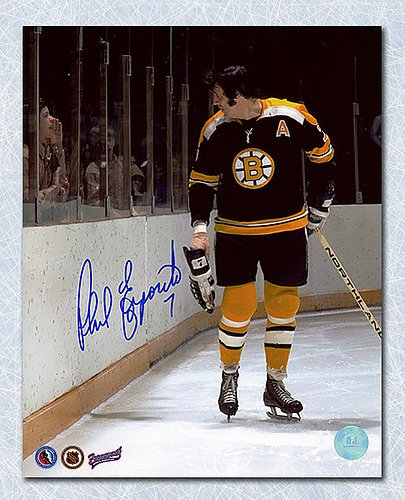 Image Unavailable. Image not available for. Color  Phil Esposito Boston  Bruins Autographed ... 6b4f68ec5