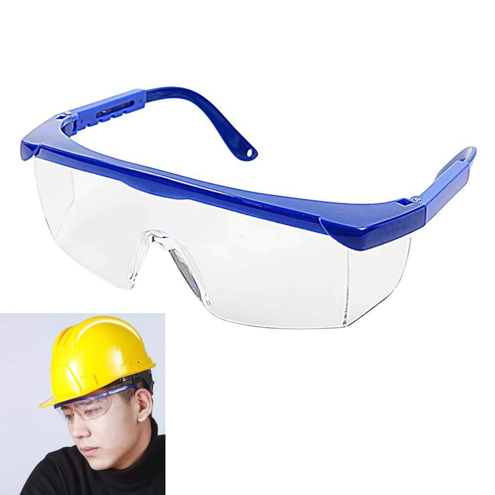 PC Safety Glasses UV-protection Motorcycle Goggles Dust Wind Splash Proof