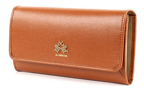 LA MARTINA La Portena Lady Wallet With Flap Tan