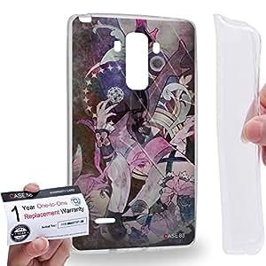 Case88 [LG G4 Stylus] Gel TPU Carcasa/Funda & Tarjeta de garantía - Aquarion Evol Mikono Suzushiro 1629