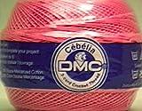 DMC 167GA 20-3326 Cebelia Crochet Cotton, 405-Yard, Size 20, Wild Rose