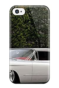 Hot ZIBQwtc450zJqBH White Cadillac Tpu Case Cover Compatible With Iphone 4/4s